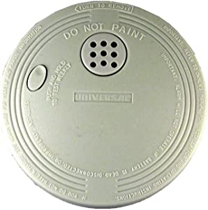 Universal Security Instruments SS-770 Battery-Operated Ionization Smoke and Fire Alarm, Model SS-770-24CC