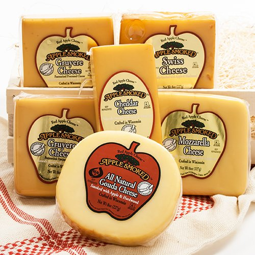 (Red Apple Smoked Cheese - Gruyere (8 ounce))