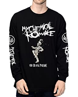 61d5edf8 EmoBug My Chemical Romance MCR The Black Parade Logo Long Sleeve Men's T- Shirt
