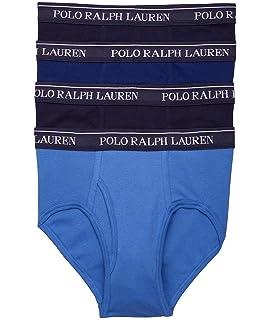 8e890a7a595 Polo Ralph Lauren Men's 4-Pack Low Rise Brief at Amazon Men's ...