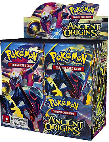 Booster Box Arrival - PokÃmon Trading Card Game XY-Ancient Origins Display Booster Box (36 Booster Packs)