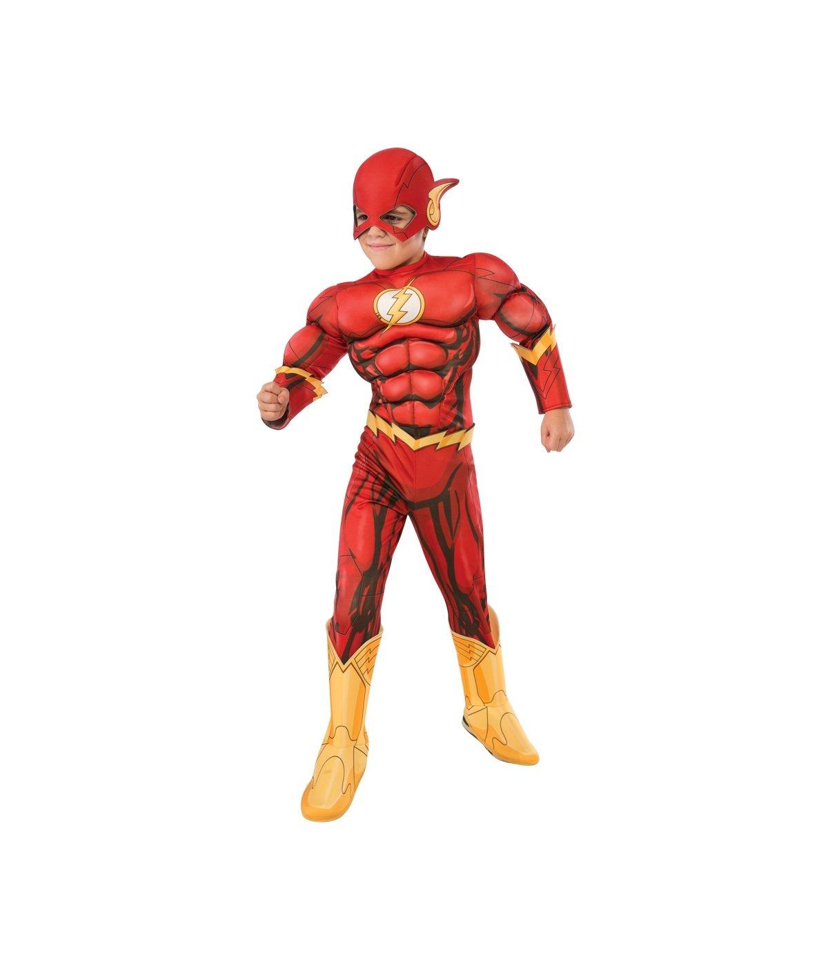 Big Boys' Dc Comics the Flash New 52 Superhero Muscle Costume deluxe