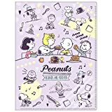 Peanuts Snoopy Clear 10 Pocket A4 size Plastic Folder Violet S2113880