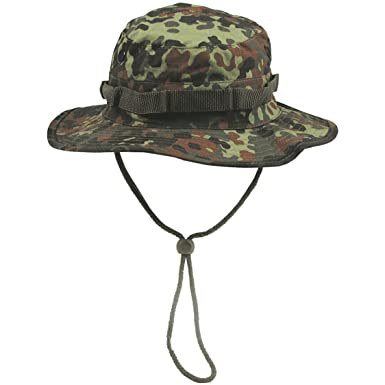 215438106cec5 MFH GI Ripstop Bush Hat Flecktarn at Amazon Men s Clothing store