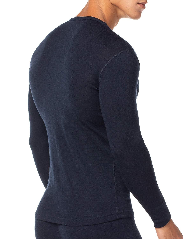 LAPASA Ropa Térmica para Hombre Pantalón/Camiseta/Conjunto de Lana Merino M31: Amazon.es: Ropa y accesorios
