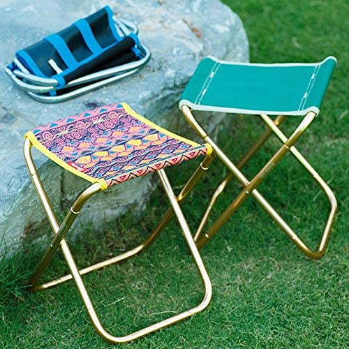 Yqs Folding Chairs Outdoor Portable Camping Chair Fishing Foldable Al Train Travelling Light Small Seat Oxford Camouflage Chair (Color : HH426300MC) Hh426300ge