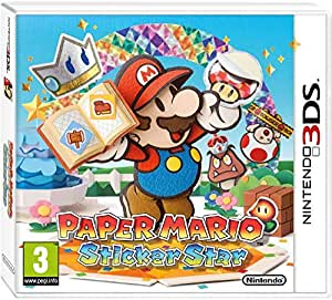 Paper Mario Sticker Star 3DS PAL