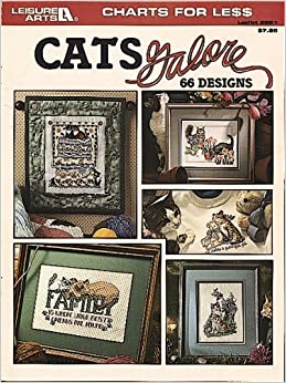 Book Cats Galore (Charts for Less)