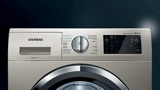 Siemens iQ500 WM14T790ES - Lavadora (Independiente, Carga frontal ...