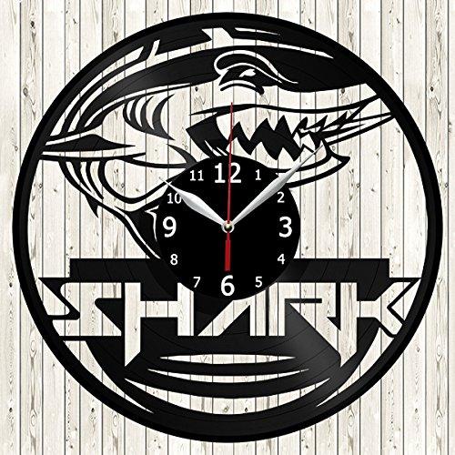shark wall clock - 8