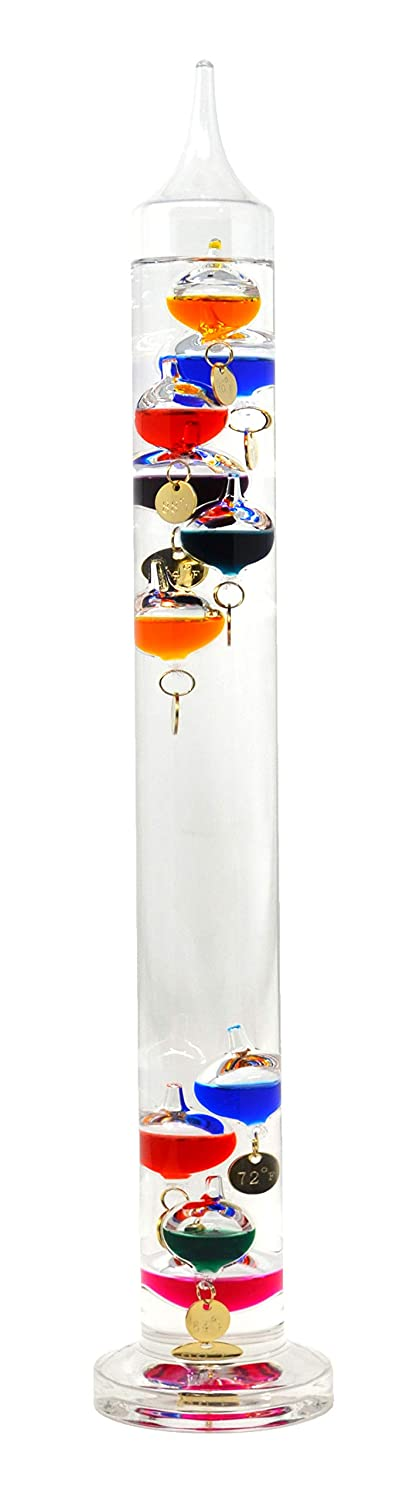 Gift Essentials Galileo Thermometer 17 inches 44 cm