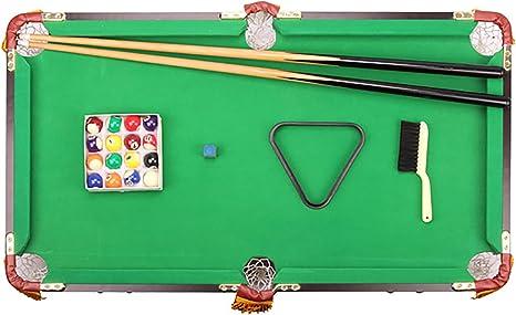 3 pies Mesa de billar billar /, mesa de billar Tabla Set Top miniatura piscina mesa de billar juego de pelota, juguetes portátiles para los niños del cabrito y oficina en casa