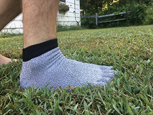 Mello-X Level 5 Dyneema Cut Resistant Socks Multi-Purpose Men's Size 9-11 Breathable Safety Anti-Cut Outdoor Indoor Water Underwater Clamming Weed-Trimmer Safety - coolthings.us