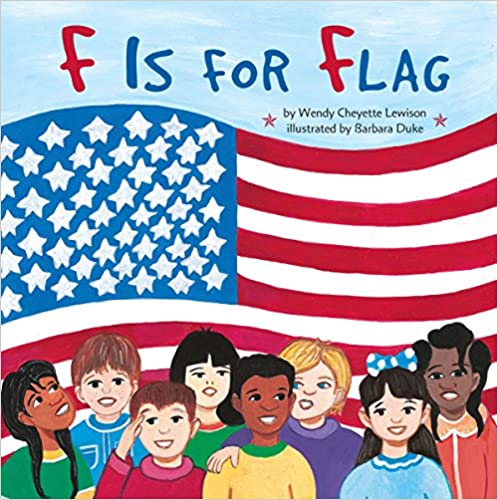 F is for Flag Book Cover