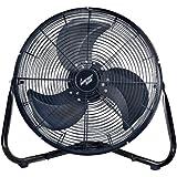 Comfort Zone Industrial Portable Floor & Office Fan   18 Inch, 3 Speed, High Velocity Fan