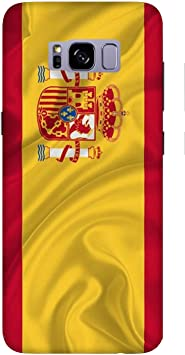 Funda Galaxy S8 Carcasa Samsung Galaxy S8 Banderas de la ciudad España / Cubierta Imprimir también en los lados / Cover Antideslizante Antideslizante Antiarañazos Resistente a golpes Protectora Rí: Amazon.es: Electrónica