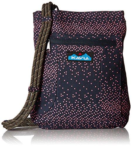 KAVU Keep Along Backpack, Hot Dots, One Size