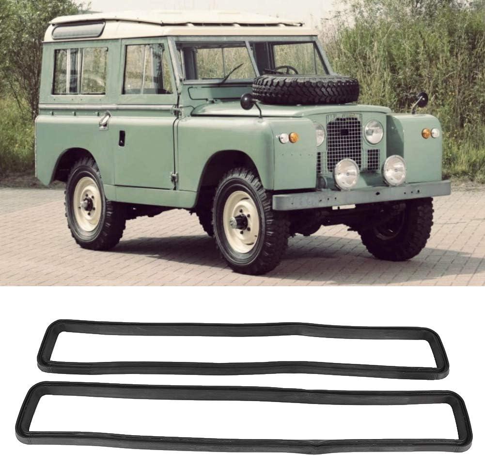 Aramox Vent Seal Rubber 2a 3 Defender 2pcs Car Defender Bulkhead Vent Seal Rubber Decoration Accessory MUC4299 Fit for Land Rover Series 2
