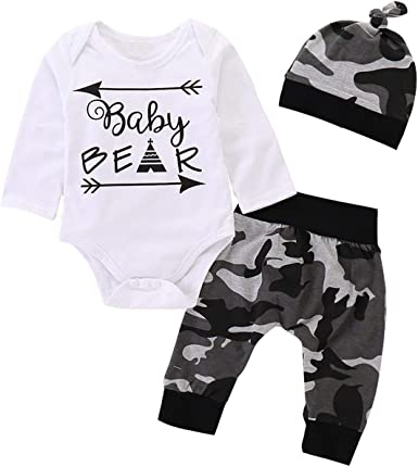Hatoys Newborn Kids Baby Boys Girls Cartoon Print Hooded Romper Bodysuit Clothes Outfit