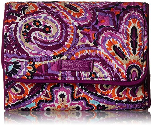 Vera Bradley Iconic Rfid Riley Compact Wallet, Signature Cotton, Dream Tapestry by Vera Bradley
