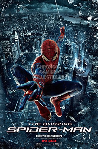 "CGC Huge Poster - Marvel The Amazing Spiderman Movie Poster - MSP002 (24"" x 36"" (61cm x 91.5cm))"