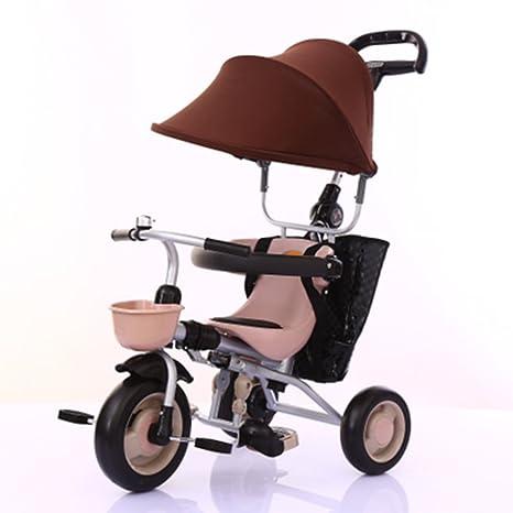 Triciclos niños Bicicleta de 1 a 5 años Carrito de bebé Carrito de niños Bicicleta Trike