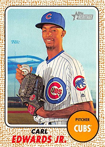 2017 Topps Heritage #60 Carl Edwards Jr. Chicago Cubs Baseball Card