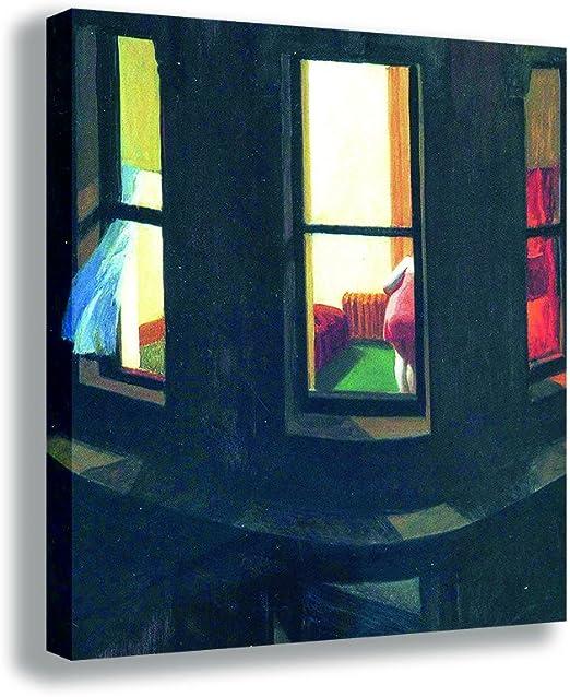 CANVAS Edward Hopper Night Window Vintage Print Art POSTER