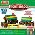 Ideal Frontier Logs Classic All Wood 114-Piece Construction Set | Computers And Accessories
