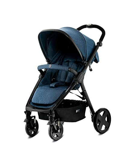 MOON JET All-terrain stroller 1 Asiento(s) Azul - Cochecito (All