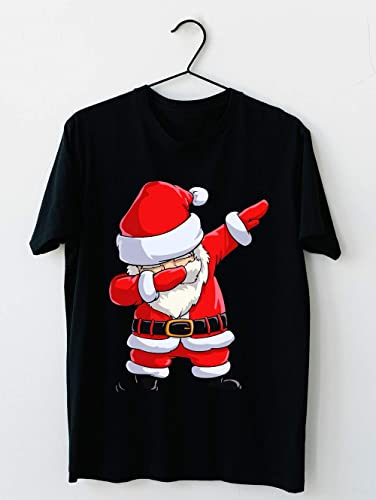 Amazon.com: Dabbing Santa T Shirt Claus De Noël Drôle Dab X mas