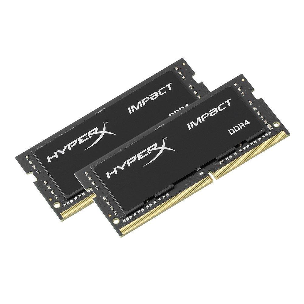 2666 MHz, DDR4, CL15, SODIMM, 1.2V HyperX HX426S15IB2 Color Negro Memoria de 16 GB