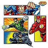 Justice League Superhero Large Wall Decal Set