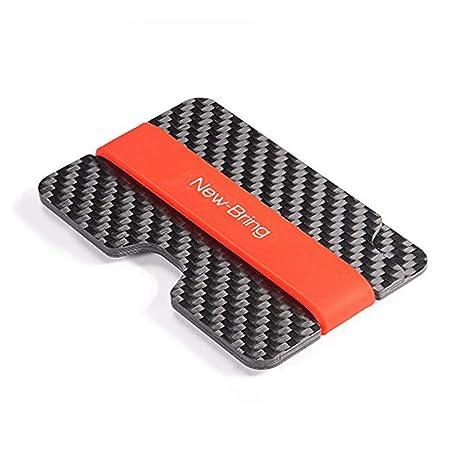 Amazon.com: bapup Compact Fibra de Carbono Mini dinero clip ...