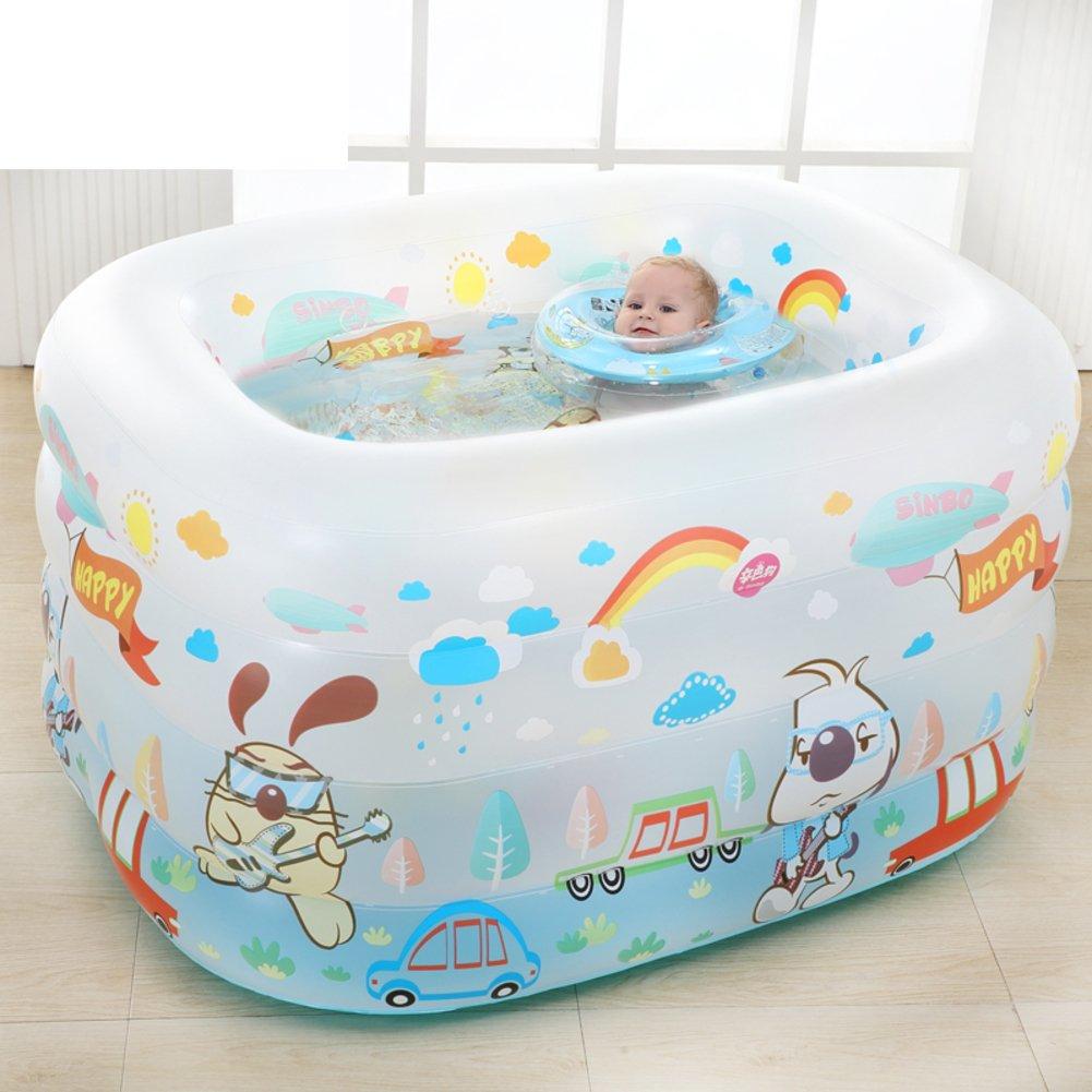 Baby Schwimmbad/Isolierung verärgert junge Kinder Planschbecken/Neugeborenes Baden Fass/Aufblasbare Babypool-A