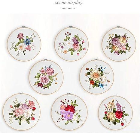 簡単 刺繍 花