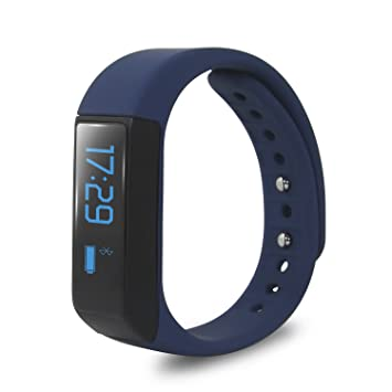 Jcotton - Bracelet fitness connecté Bluetooth 4.0 - Blue3.0