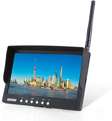 """FPV 7/"""" LCD TFT Color Monitor Aerial Photography 800*480 For RC Helicopter"""