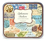 Cavallini Decorative Stickers Ephemera, Assorted