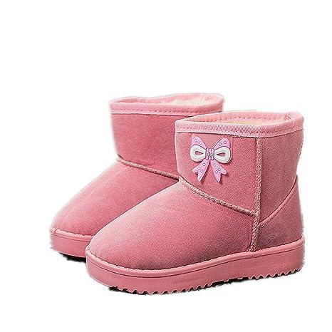 Botas Bebé Niña, Chickwin Botas de Nieve Zapatos para Bebé Otoño e Invierno Mantente Caliente
