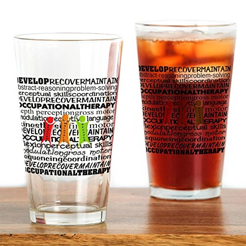 CafePress over Drinking Glass Pint