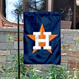 "MLB Houston Astros Sports Team Logo Garden/Window Flag 15"" x 10.5"""