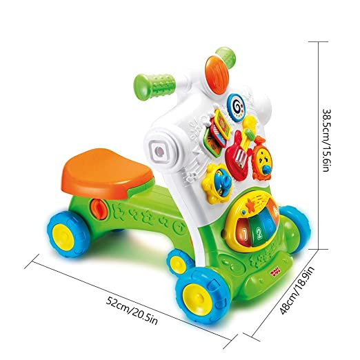 Amazon.com: Ceepko Baby Walker, 3 en 1 Baby Sitting Type ...