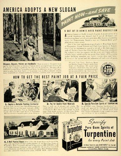 1939-ad-gum-spirits-turpentine-paint-protection-home-improvement-farmers-lumber-original-print-ad
