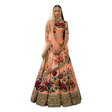 ca1bd5f180 Image Unavailable. Image not available for. Color: Wedding Bollywood Lehenga  Dupatta Designer Ghagra chaniya Choli Bridal ...