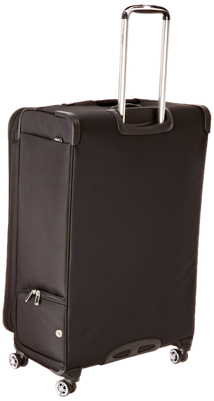 Black DELSEY Paris Helium Pilot 3.0 Carry-on Exp Spinner Trolley