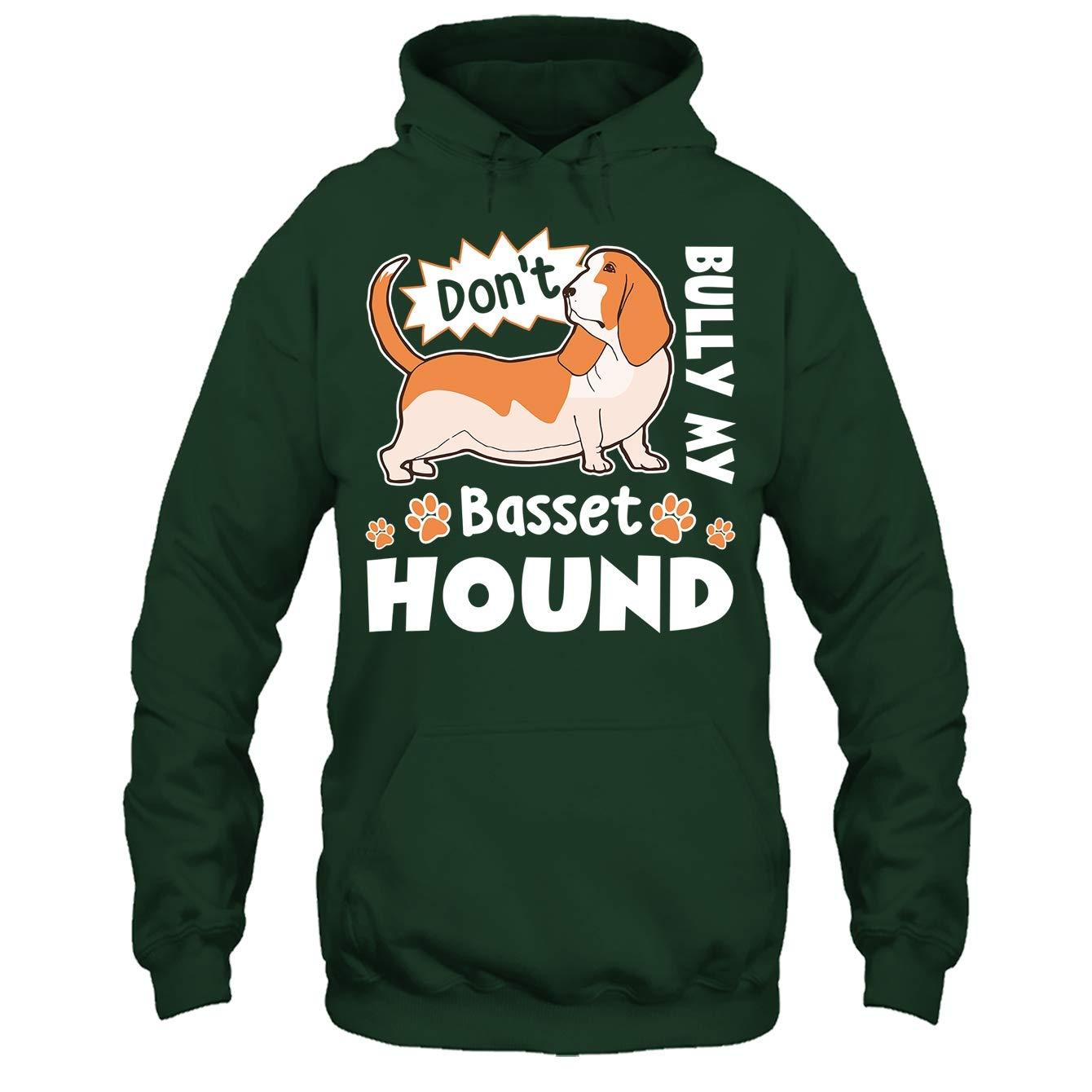 Dont Bully My Basset Hound Tee Shirt Addblue Basset Hound T Shirt
