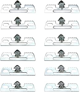 Frost King CL1 Clips for Furniture Re-Webbing, Silver