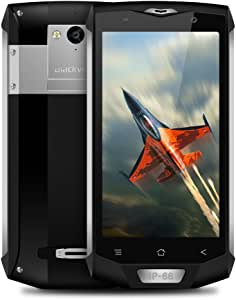 Smartphone Resistentes 4G, Blackview Bv8000Pro IP68 Outdoor Móvil Antigolpes Libres Dual SIM con 6GB+ 64GB, Pantalla FHD de 5.0