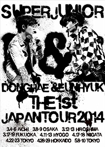 Super Junior Donghae & Eunhyuk - Super Junior D&E The 1St Japan Tour 2014 (2DVDS) [Japan LTD DVD] AVBK-79222